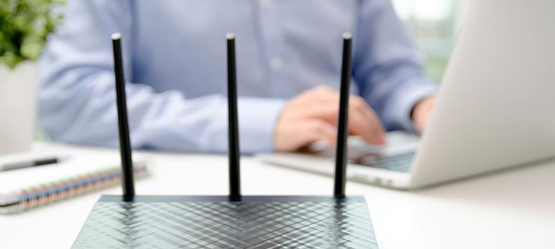 WiFiの電波
